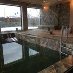 Создание бассейна и паровой кабины с использованием материалов Европанель в частном коттедже